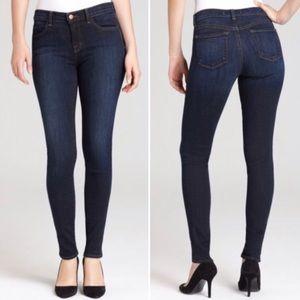 J Brand Super Skinny Palisade Blue Jeans Size 32